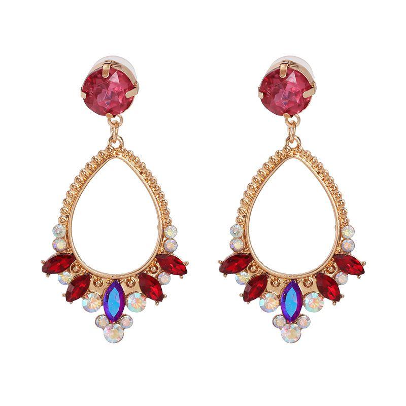 Alloy Fashion Geometric earring  red  Fashion Jewelry NHJJ5612red