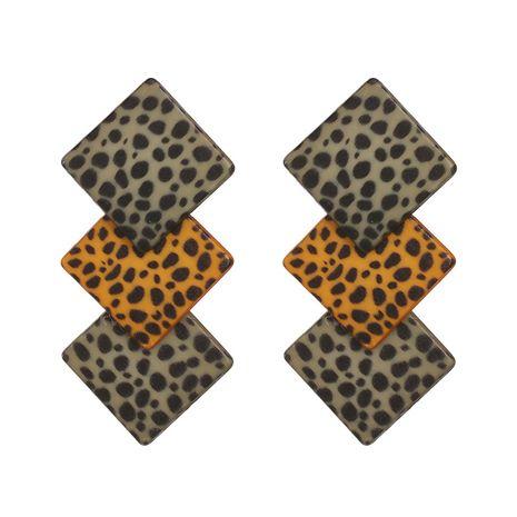 Plastic Fashion Geometric earring  (green)  Fashion Jewelry NHJJ5617-green's discount tags