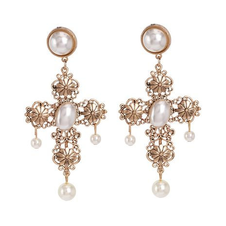 Alloy Fashion Cross earring  (51684)  Fashion Jewelry NHJJ5619-51684's discount tags