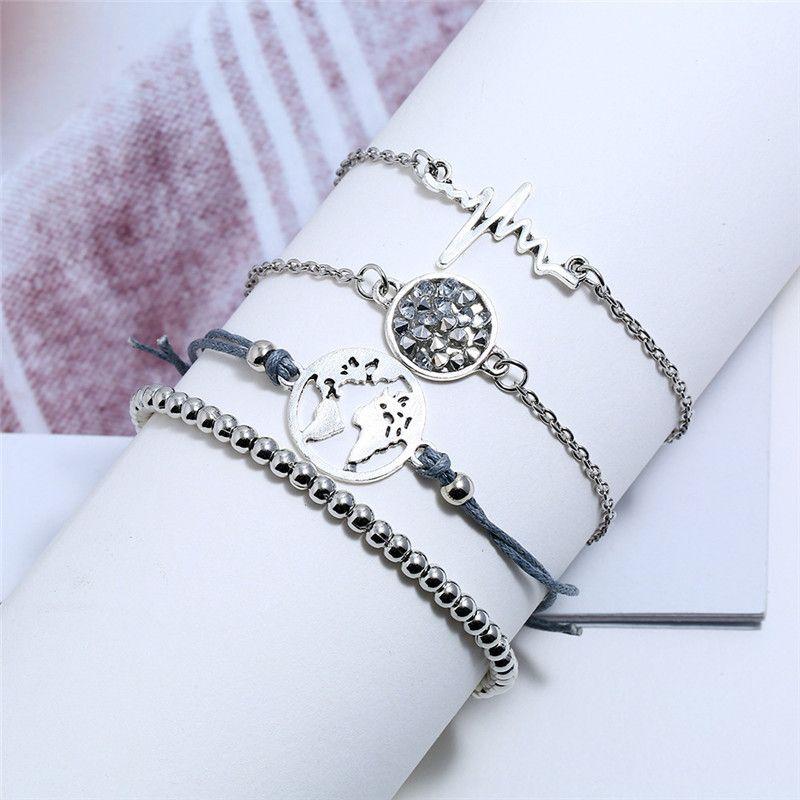 Alloy Fashion Geometric bracelet  (Alloy)  Fashion Jewelry NHNZ1293-Alloy