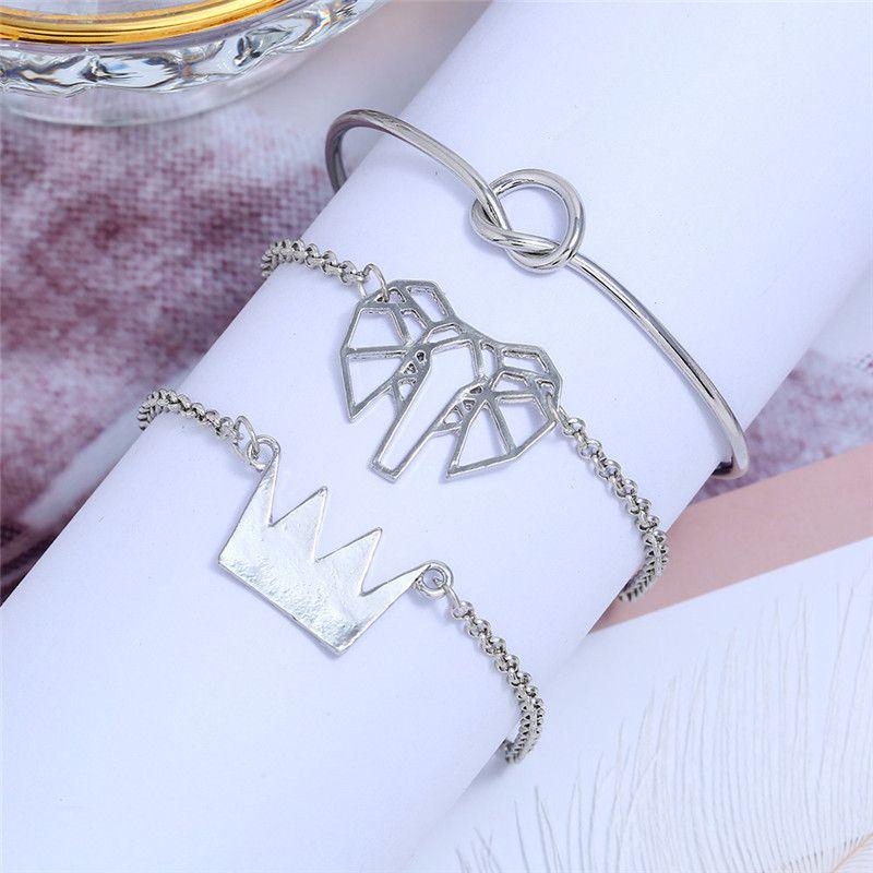 Alloy Fashion Geometric bracelet  (Alloy)  Fashion Jewelry NHNZ1295-Alloy
