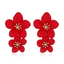 Alloy Fashion Flowers earring  yellow  Fashion Jewelry NHVA5406yellow