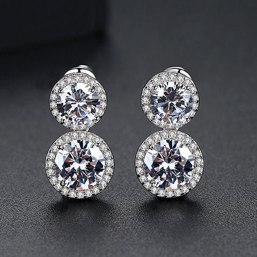 Alloy Simple Geometric earring  TransparentT01B01  Fashion Jewelry NHTM0656TransparentT01B01
