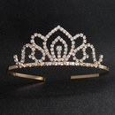 Imitated crystalCZ Simple Geometric Hair accessories  Alloy  Fashion Jewelry NHHS0664Alloy