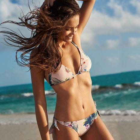Polyester Fashion  Bikini  (Color 40-S)  Swimwear NHHL1621-Color-40-S's discount tags