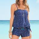 Polyester Fashion  Bikini  Blue dot 41S  Swimwear NHHL1619Bluedot41S