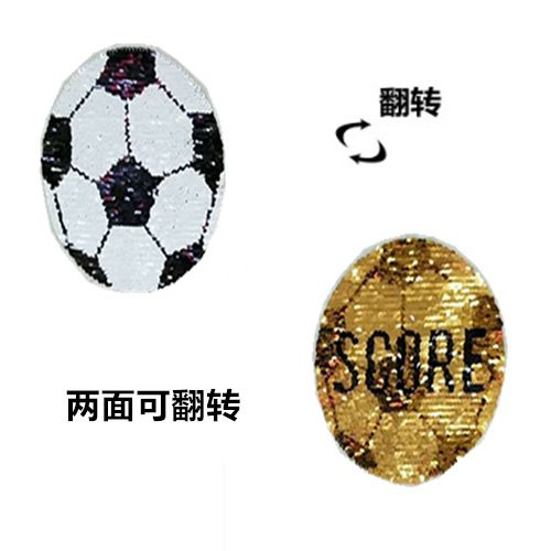 Alloy Fashion  jewelry accessory  Football 2 faces can be flipped  Fashion Accessories NHLT0046Football2facescanbeflipped