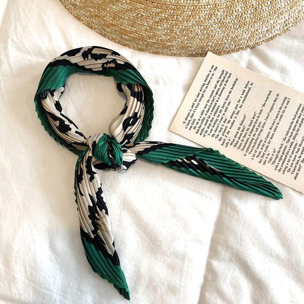 Alloy Korea  scarf  (L03 green leopard print)  Scarves NHTZ0413-L03-green-leopard-print