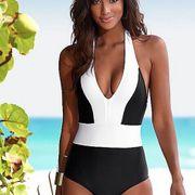Cotton Fashion  Bikini  (White-S)  Swimwear NHHL1635-White-S