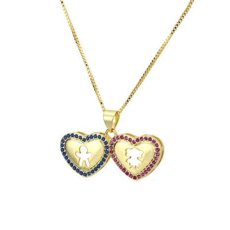 Copper Fashion Sweetheart necklace  (Alloy plating)  Fine Jewelry NHBP0410-Alloy-plating's discount tags