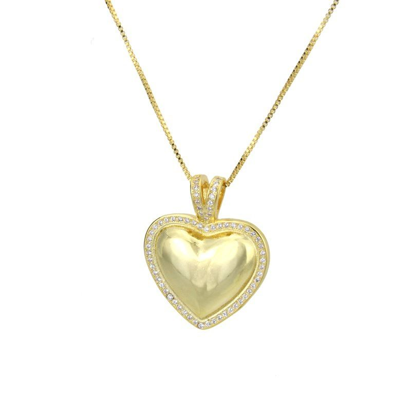Copper Fashion Sweetheart necklace  Alloy plating  Fine Jewelry NHBP0414Alloyplating