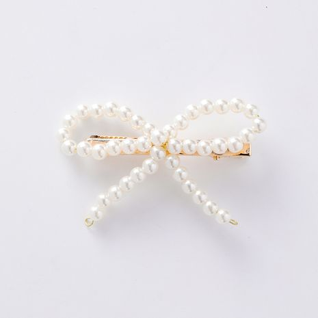 Alloy Korea Bows Hair accessories  (A beige)  Fashion Jewelry NHMS2327-A-beige's discount tags