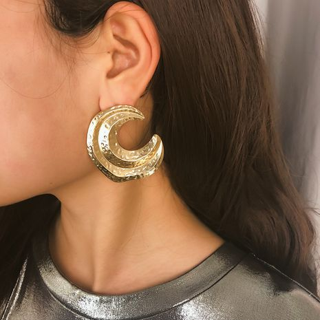 Alloy Simple Geometric earring  (Alloy 1368)  Fashion Jewelry NHXR2784-Alloy-1368's discount tags