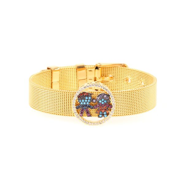 Titanium&Stainless Steel Fashion Cartoon bracelet  (BA0013-A)  Fine Jewelry NHPY0599-BA0013-A