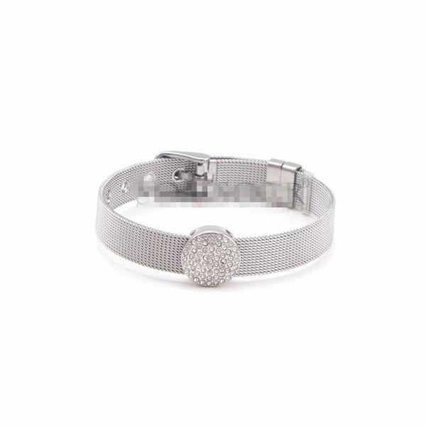 Titanium&Stainless Steel Simple Geometric bracelet  (Steel bracelet)  Fine Jewelry NHSX0435-Steel-bracelet