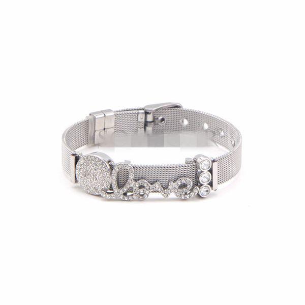 Titanium&Stainless Steel Simple Geometric bracelet  (Steel bracelet)  Fine Jewelry NHSX0439-Steel-bracelet
