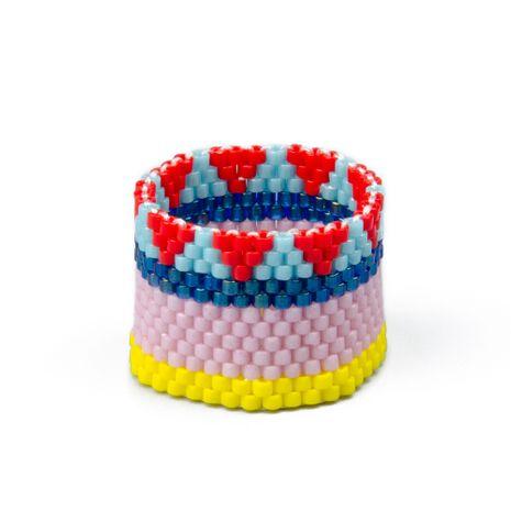 Alloy Fashion Geometric Ring  (MI-R180027-9.5)  Fashion Jewelry NHGW1570-MI-R180027-9.5's discount tags