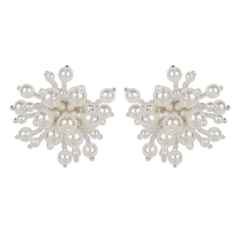 Alloy Fashion Geometric earring  white  Fashion Jewelry NHMD5245white