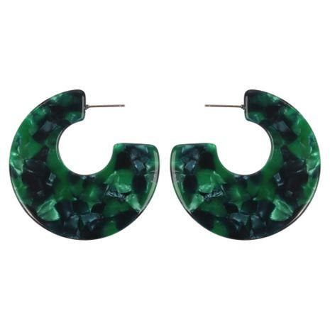 Alloy Fashion Geometric earring  (green)  Fashion Jewelry NHMD5248-green's discount tags