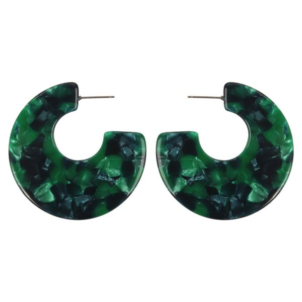 Alloy Fashion Geometric earring  (green)  Fashion Jewelry NHMD5248-green