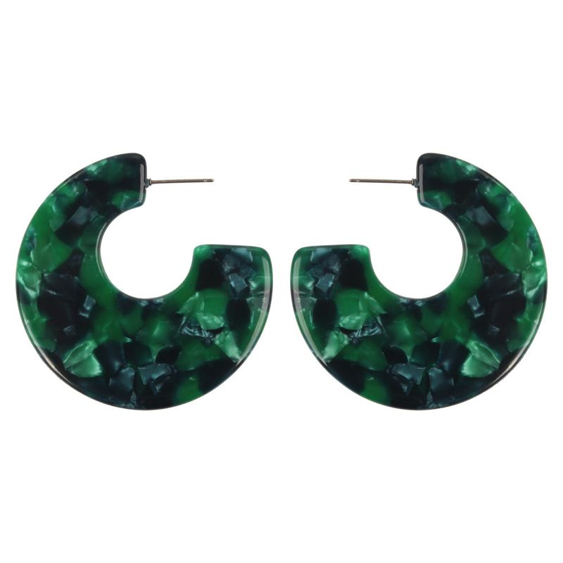 Alloy Fashion Geometric earring  (green)  Fashion Jewelry NHMD5248-green