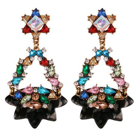 Alloy Fashion Geometric earring  (black)  Fashion Jewelry NHMD5251-black's discount tags