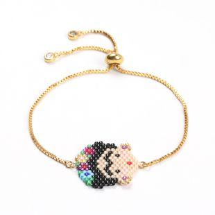 Alloy Fashion Cartoon bracelet  (MI-B180293A)  Fashion Jewelry NHGW1605-MI-B180293A's discount tags