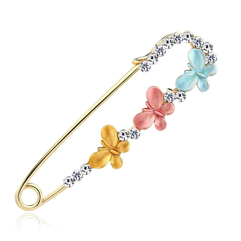 Alloy Korea Bows brooch  (AI094-A)  Fashion Jewelry NHDR3209-AI094-A