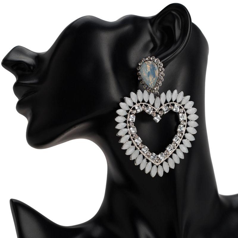 Acrylic Fashion Geometric earring  (white)  Fashion Jewelry NHJE2705-white