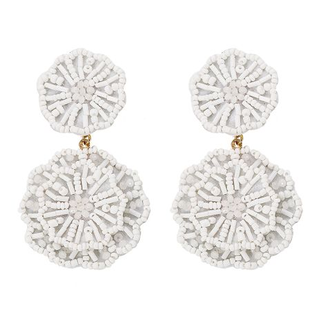 Acrylic Vintage bolso cesta earring  (white)  Fashion Jewelry NHJQ11338-white's discount tags