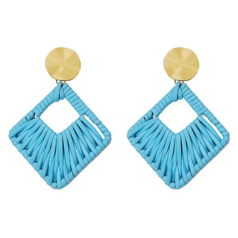Alloy Fashion bolso cesta earring  (blue)  Fashion Jewelry NHJQ11347-blue's discount tags