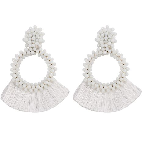 Acrylic Fashion bolso cesta earring  (white)  Fashion Jewelry NHJQ11357-white's discount tags