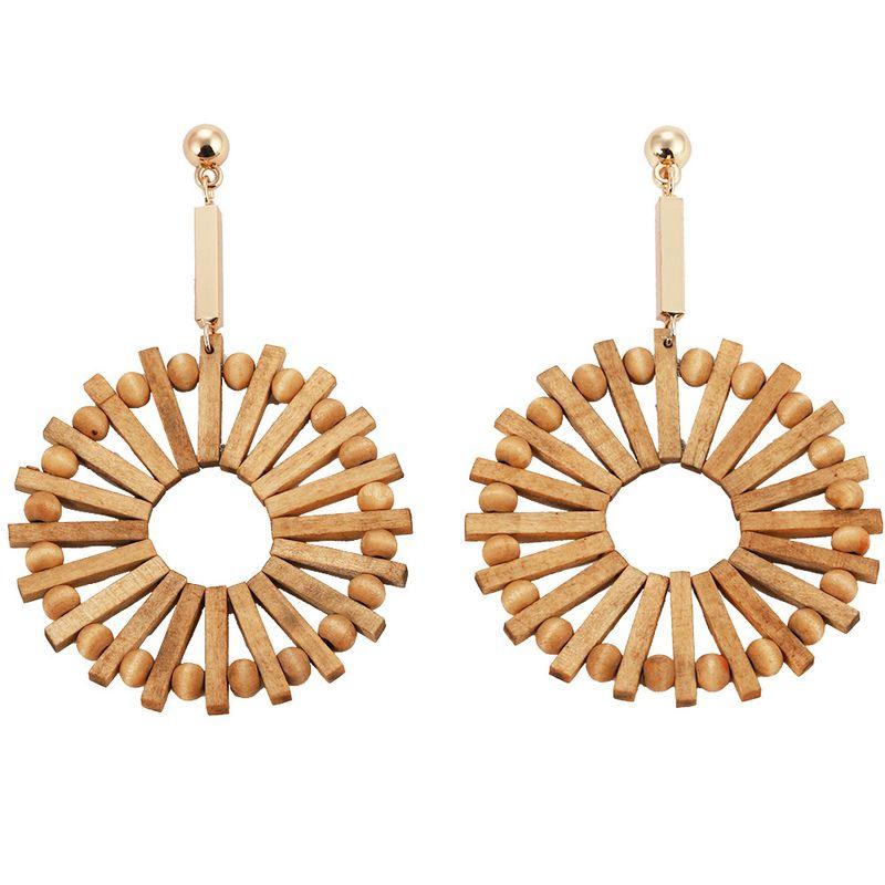 Alloy Bohemia Geometric earring  (Style one)  Fashion Jewelry NHJQ11363-Style-one