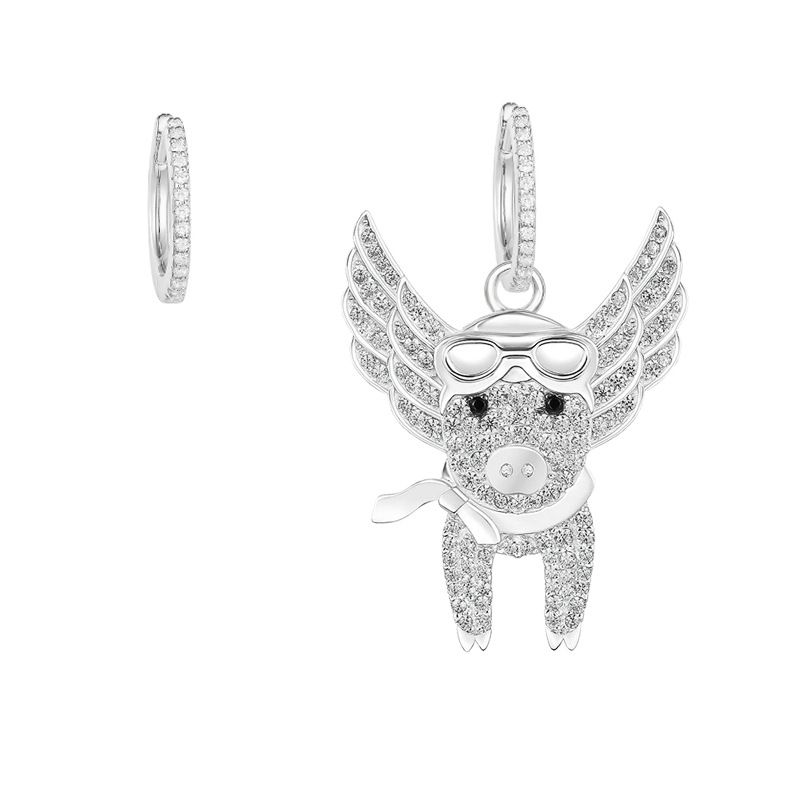 Copper Fashion  earring  White alloy  Fine Jewelry NHLJ4265Whitealloy