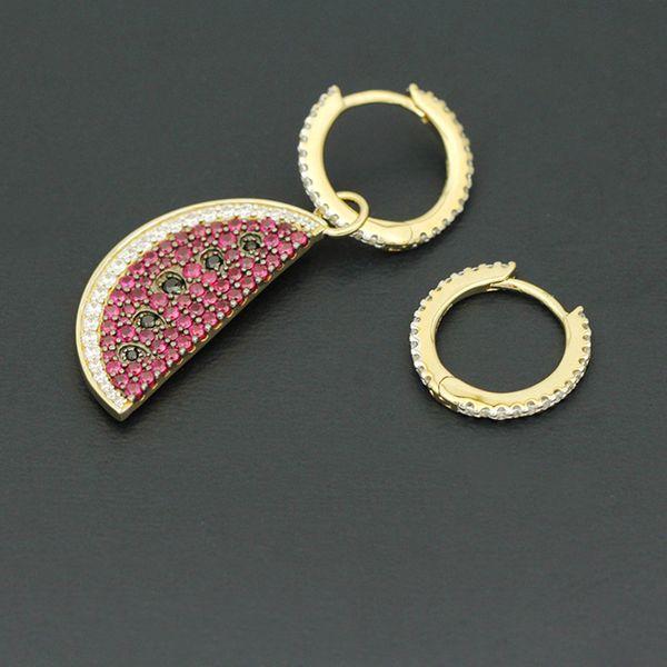 Copper Fashion Geometric earring  (Alloy)  Fine Jewelry NHLJ4267-Alloy