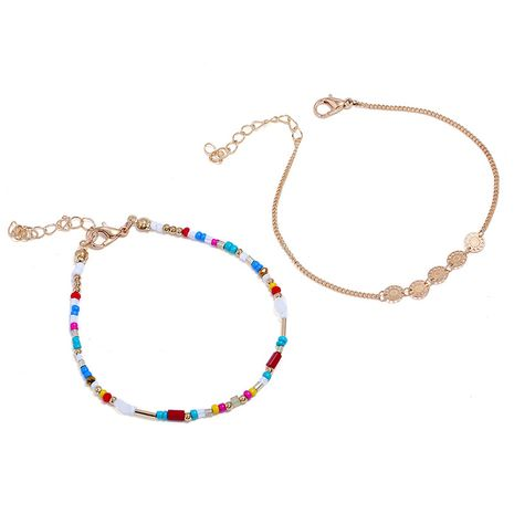 Alloy Simple bolso cesta bracelet  (Color mixing)  Fashion Jewelry NHNZ1327-Color-mixing's discount tags