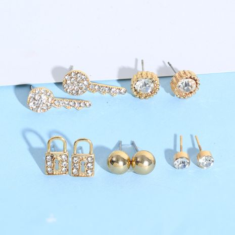 Alloy Fashion Geometric earring  (Alloy)  Fashion Jewelry NHNZ1328-Alloy's discount tags