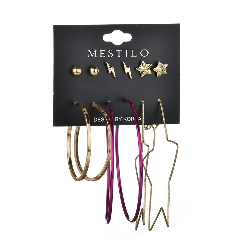 Alloy Fashion Geometric earring  Alloy  Fashion Jewelry NHBQ1961Alloy