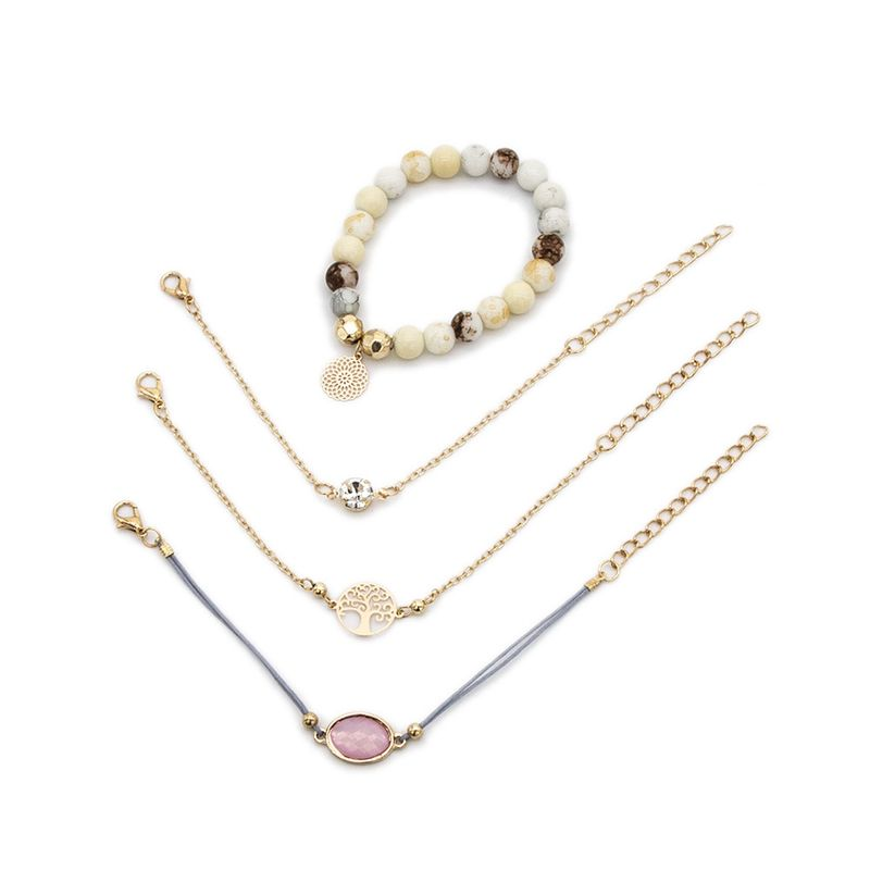 Alloy Fashion Geometric bracelet  (Colorful)  Fashion Jewelry NHBQ1971-Colorful