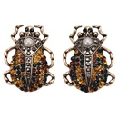 Alloy Bohemia Animal earring  red  Fashion Jewelry NHJQ11360red