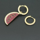 Copper Fashion Geometric earring  Alloy  Fine Jewelry NHLJ4267Alloy