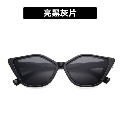 Plastic Fashion  glasses  (Bright black ash)   NHKD0903-Bright-black-ash's discount tags