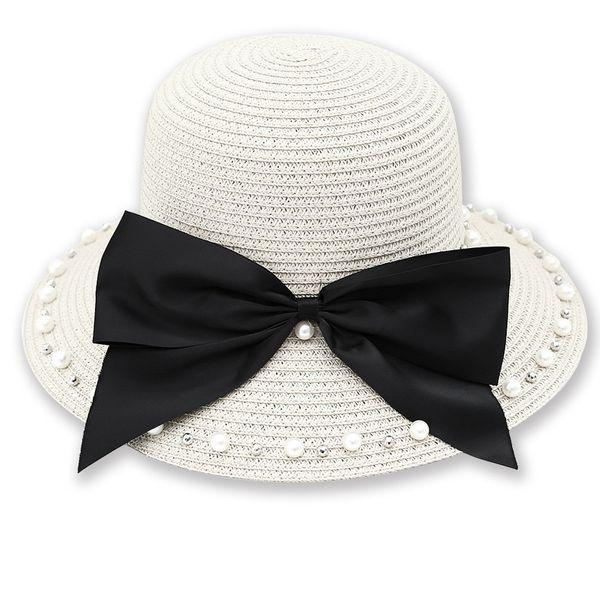 Cloth Korea  hat  (Milky white - adult)   NHHY5044-Milky-white-adult