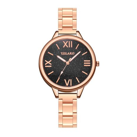 Alloy Fashion  Ladies watch  (Rose alloy)   NHSY2015-Rose-alloy's discount tags