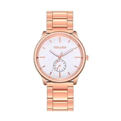 Alloy Fashion  Ladies watch  (Rose alloy)   NHSY2021-Rose-alloy's discount tags