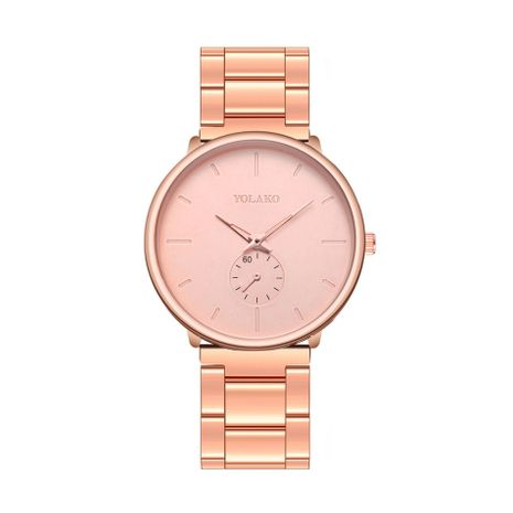 Alloy Fashion  Men s watch  (Rose alloy)   NHSY2022-Rose-alloy's discount tags