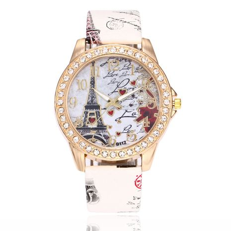 Alloy Fashion  Ladies watch  (white)   NHSY2023-white's discount tags