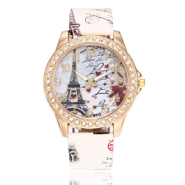 Alloy Fashion  Ladies watch  (white)   NHSY2023-white