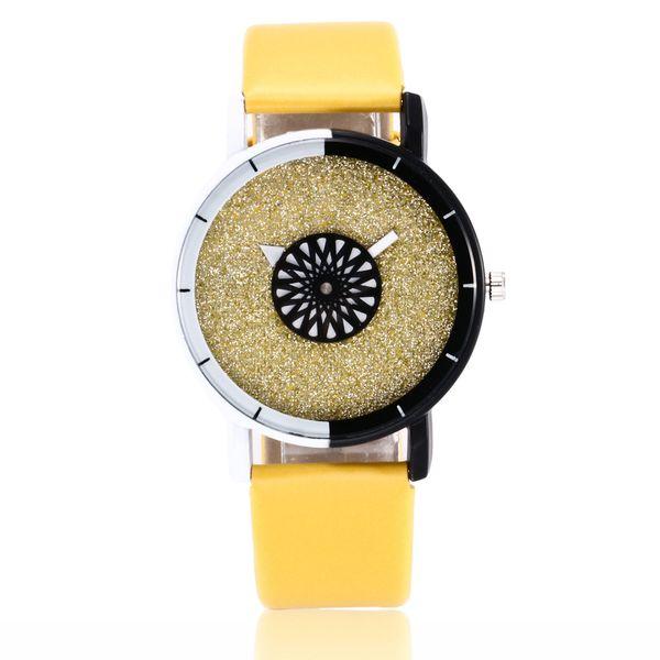 Alloy Fashion  Children s watch  (yellow)   NHSY2067-yellow