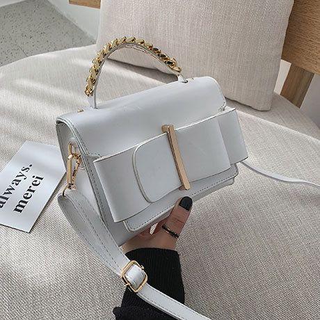 PU Korea  Shoulder Bags  (white)   NHTC3363-white
